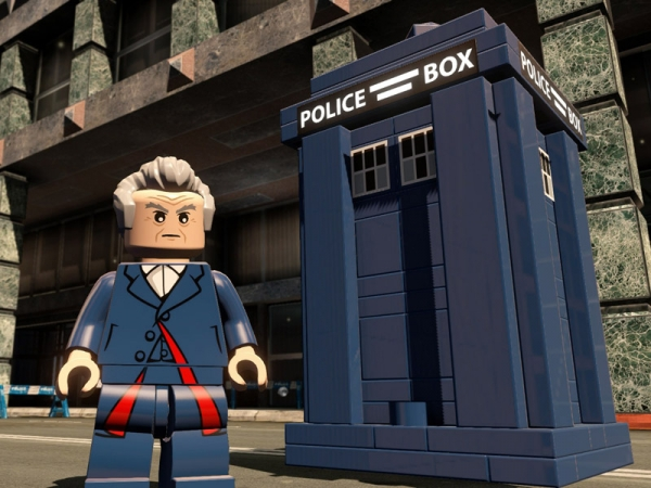Docteur Who dans LEGO Movie 2