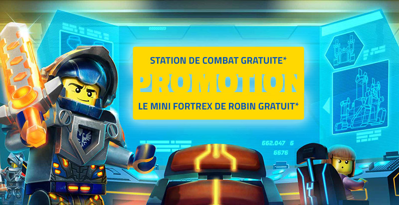 Promotions Nexo Knights