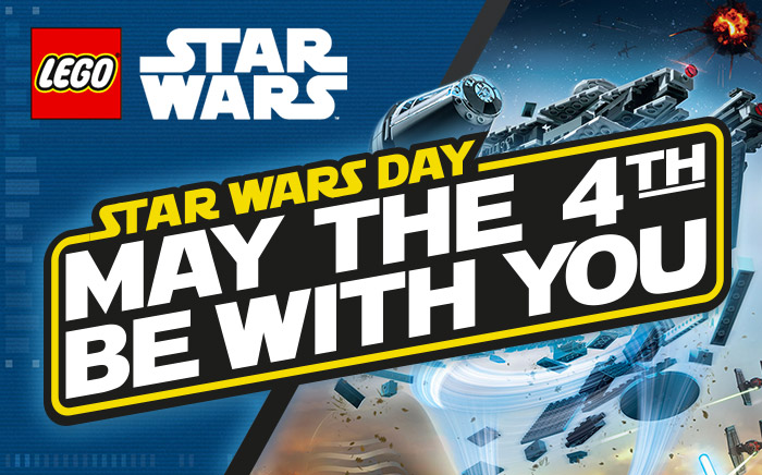 Fêtez le May The 4th be with you avec LEGO !