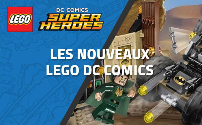 Nouveau LEGO DC Comics 76056 - Rescue from Ra's Al Ghul !
