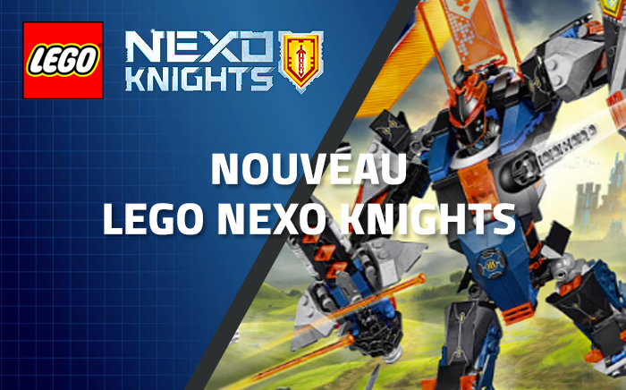 Nouveau LEGO Nexo Knights 70326 : The Black Knight Mech