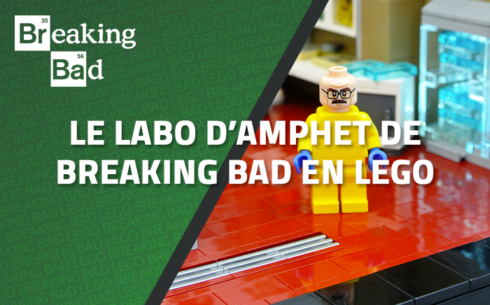 Le labo d'amphet de Breaking Bad en LEGO