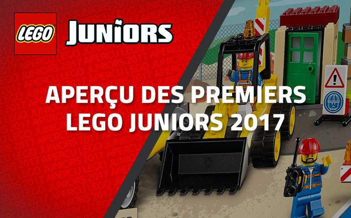 Aperçu Des Premiers LEGO Juniors 2017