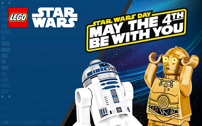 Des promos LEGO Star Wars avec le May the 4th Be With You