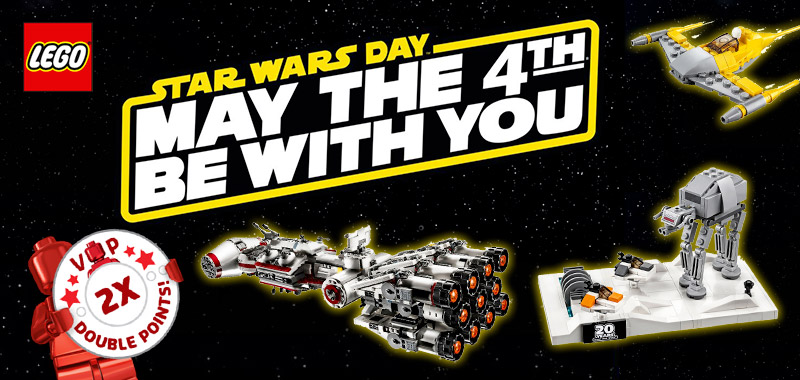 Des promos LEGO Star Wars avec le May the 4th Be With You 2019
