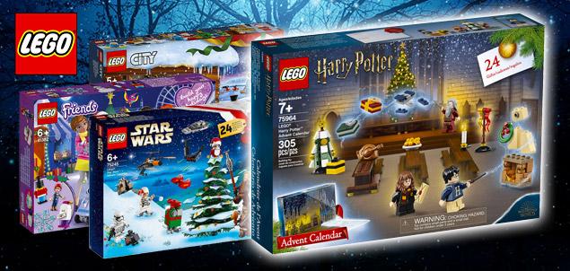 Calendrier De L Avent Lego City 2020.Apercu Des Calendriers De L Avent Lego 2019