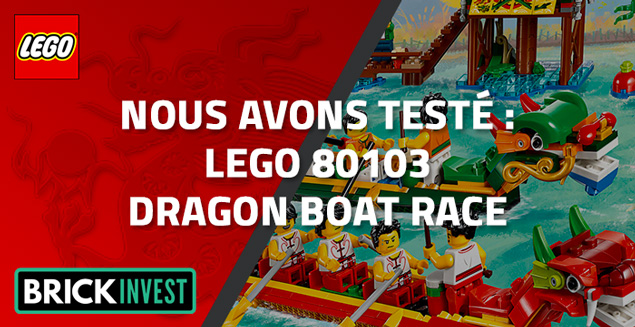 Review LEGO 80103 Dragon Boat Race, par BrickInvest
