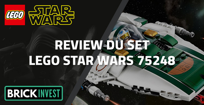 Review LEGO Star Wars 75248 Resistance A-Wing Starfighter, par BrickInvest