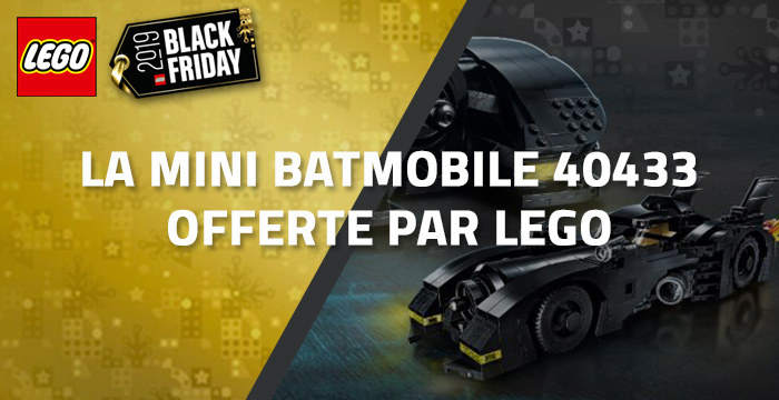 La Mini Batmobile 40433 offerte par LEGO
