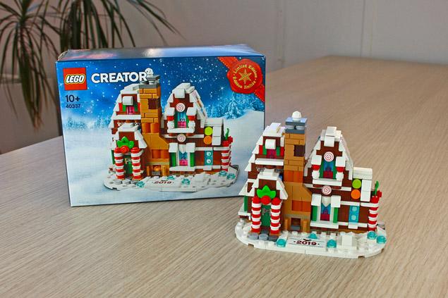 Le mini maison en pain d'épices LEGO Creator 40337