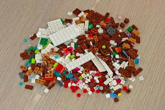 499 pièces pour le LEGO Creator 40337