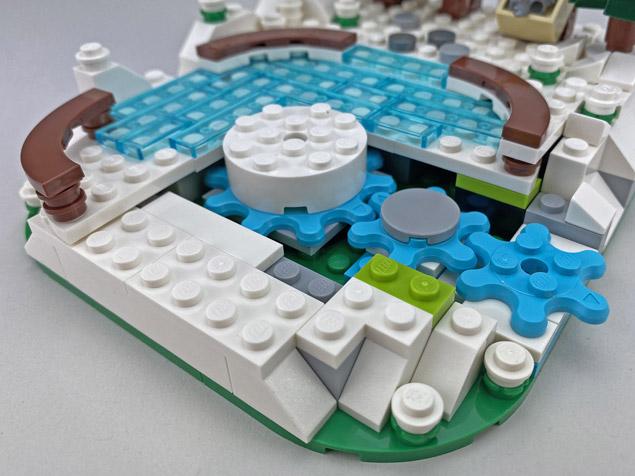 La patinoire LEGO 40416 offerte dès 150€ d'achat chez LEGO