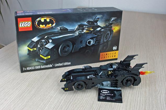 La Mini Batmobile LEGO 40433 offerte pour l'achat de la Batmobile XXL