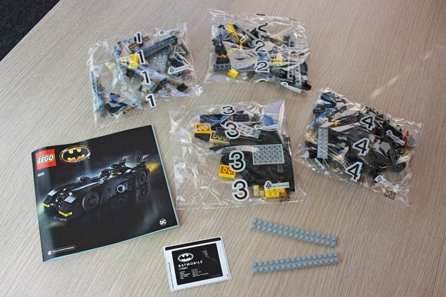 Contenu de la boîte LEGO 40433