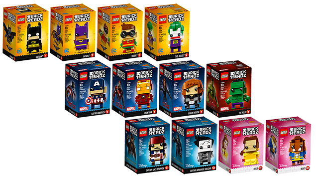 LEGO BrickHeadz Série 1