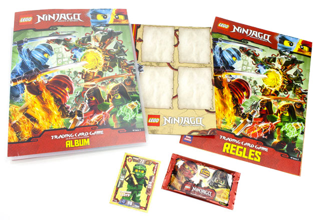 Le pack de démarrage LEGO Ninjago Trading Card Game Jeu de cartes à collectionner Série 2