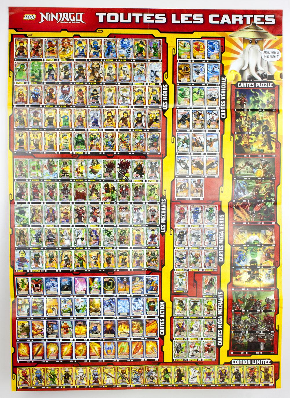 Lego ninjago le jeu de cartes collectionner lancement de la s rie 2 - Lego ninjago le grand devoreur ...