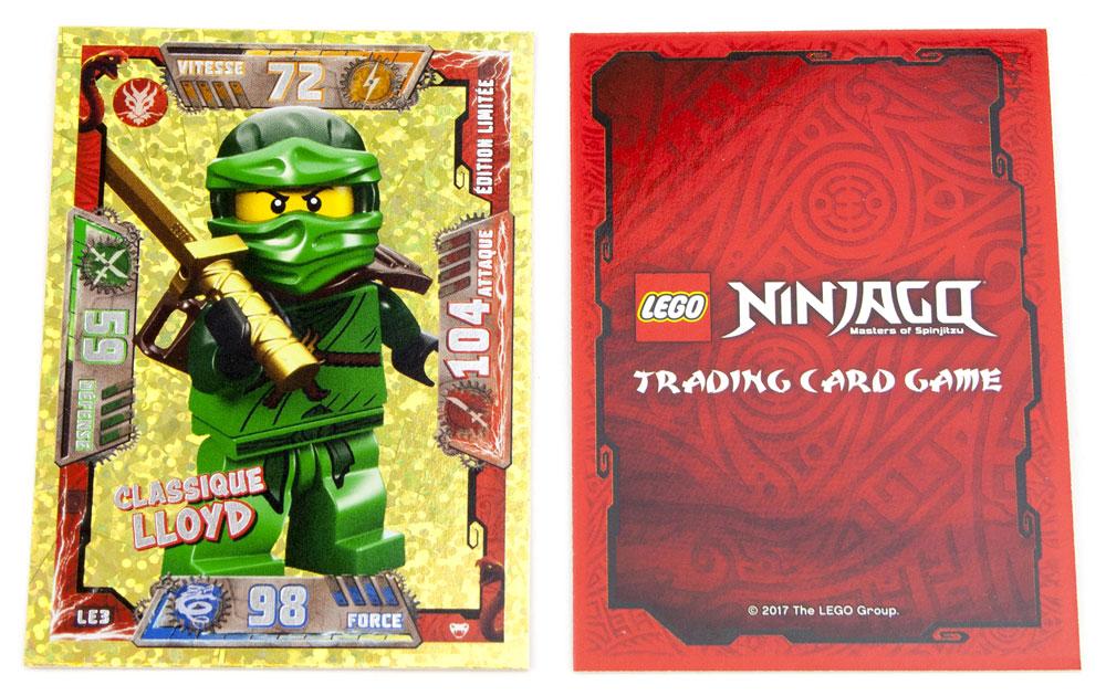 Lego ninjago le jeu de cartes collectionner lancement - Carte ninjago ...