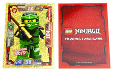 Booster et carte édition limitée LEGO Ninjago Trading Card Game Jeu de cartes à collectionner Série 2