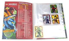Album LEGO Ninjago Trading Card Game Jeu de cartes à collectionner Série 2