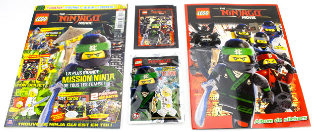 Le magazine officiel LEGO Ninjago Movie