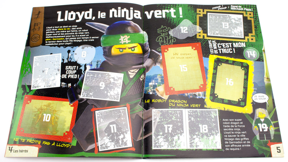 Le ninja vert - Ninja vert lego ...