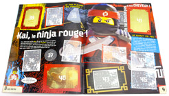 Magazine The LEGO Ninjago Movie Album de stickers