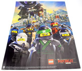 Magazine The LEGO Ninjago Movie Poster