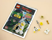 Magazine The LEGO Ninjago Movie Minifigurine de Lloyd