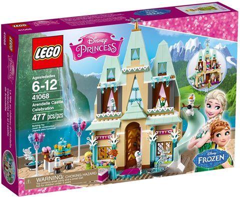 La Fête Au Château D'Arendelle (LEGO La Reine Des Neiges 41068