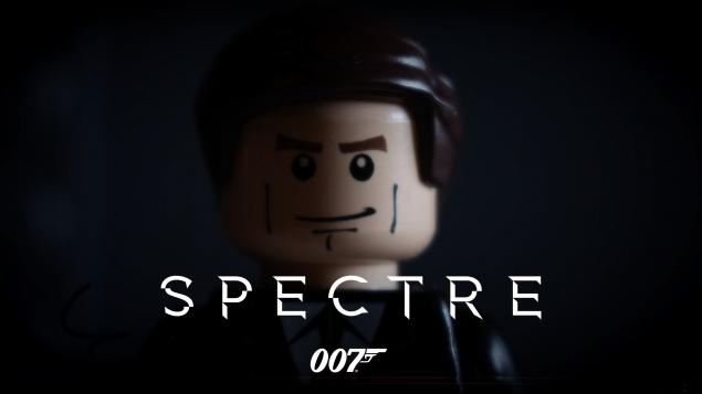 Bande annonce James Bond 007 SPECTRE version LEGO