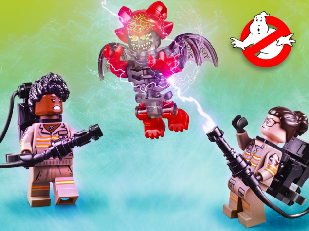 LEGO Ghostbusters 3 Ecto 1 & 2