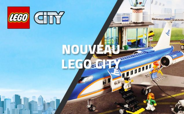 LEGO City 60104 Airport, le terminal !