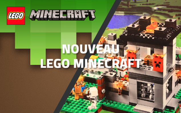 Nouveau LEGO Minecraft 21127 : The Fortress