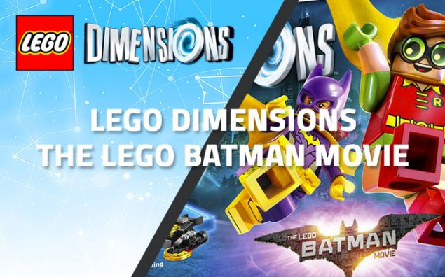 Les packs LEGO Dimensions The LEGO Batman Movie pour février 2017