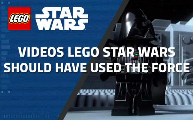 "Vidéos LEGO Star Wars ""Should have used the Force..."""