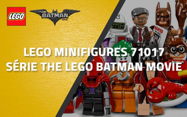 LEGO Minifigures 71017 - Série The LEGO Batman Movie