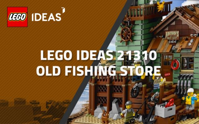 Le prochain LEGO Ideas 21310 Old Fishing Store