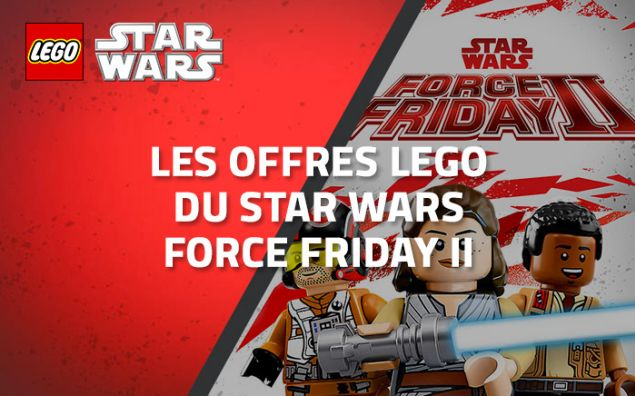 Les offres LEGO du Star Wars Force Friday 2
