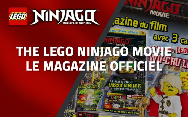 The LEGO Ninjago Movie, le magazine officiel