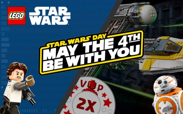 Des promos LEGO Star Wars avec le May the 4th Be With You 2018