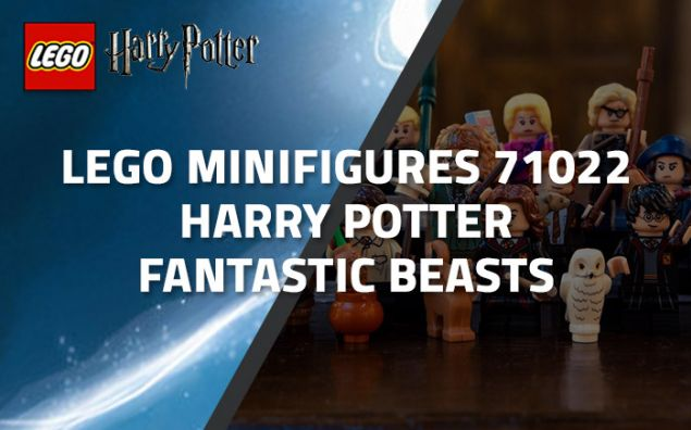 Aperçu du LEGO Minifigures 71022 Harry Potter / Fantastic Beasts