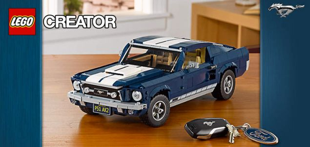Nouveau LEGO Creator Expert 10265 Ford Mustang disponible