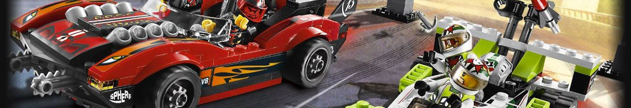 Achat LEGO World Racers 8896 Le canyon du serpent pas cher
