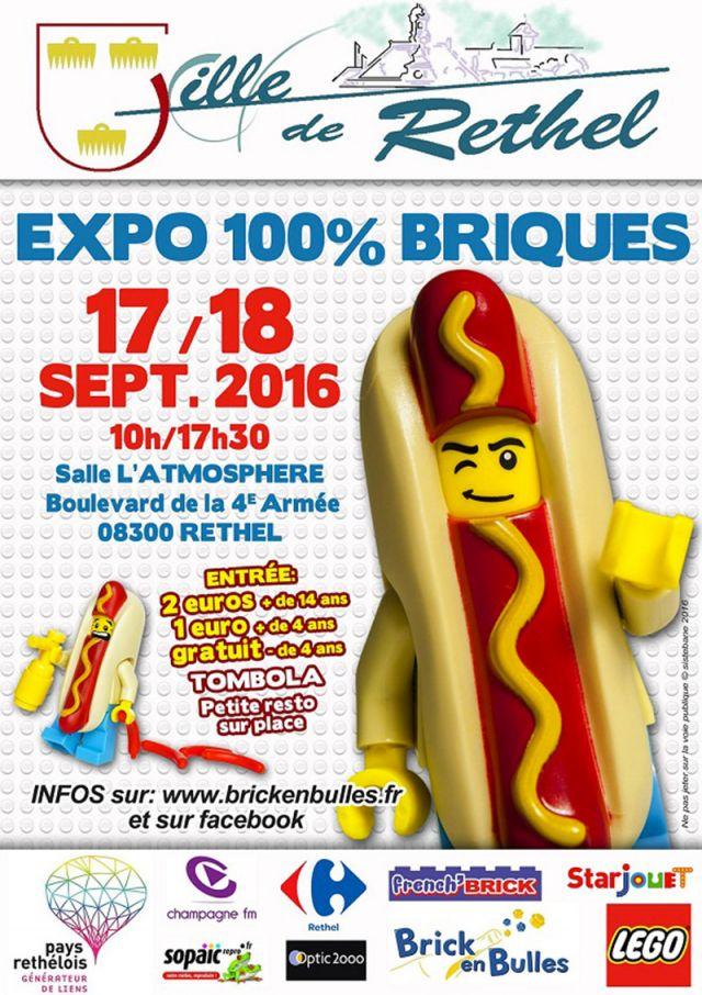 Exposition lego expo 100 briques rethel rethel 08300 for 08300 rethel