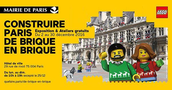 exposition lego paris de brique en brique exposition et animations lego paris 75004. Black Bedroom Furniture Sets. Home Design Ideas