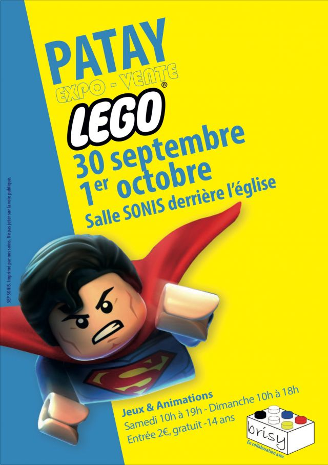 Exposition LEGO Expo Vente LEGO Patay 2017 à PATAY (45310)