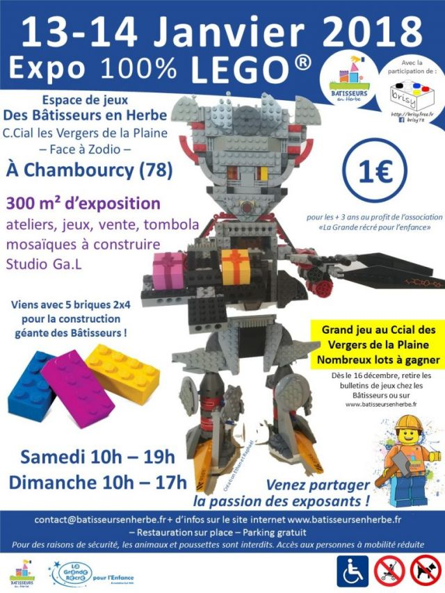 Exposition LEGO EXPO 100% LEGO à CHAMBOURCY (78240)