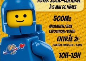 Exposition LEGO MILHAUD (30540) - EXPO 100% LEGO MILHAUD 2018
