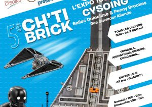Exposition LEGO CYSOING (59830) - 5ème CH'TI BRICK CYSOING
